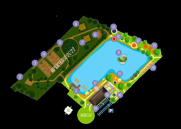 Mappa di Esploworld 2021